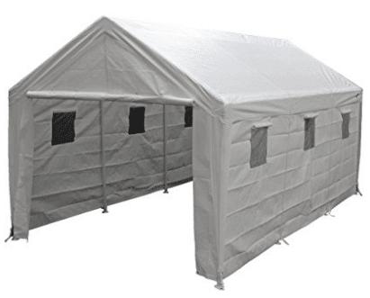 King Canopy Hercules 10 x 20 Foot 8 Leg Universal Carport Shelter