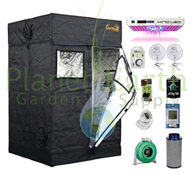 Gorilla 4u0027 x 4u2032 LITE Grow Tent Kit 1000W HPS Combo u2013 Best 4×4 Grow Tent kits  sc 1 st  5productreviews & Top 10 Best 4x4 Grow Tent kits in 2018 - Buyeru0027s Guide (March. 2018)