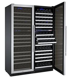 Allavino FlexCount 2X-VSWR172-2SST - 344 Bottle Multi-Zone Wine Refrigerator