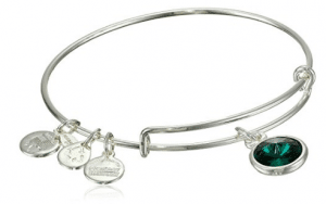 Alex and Ani Bangle Bar Imitation Birthstone Bangle Bracelet
