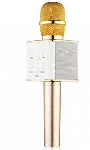 BONAOK Updated Wireless Karaoke Microphone