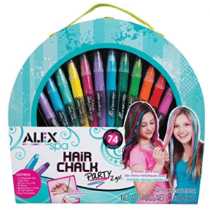 ALEX Toys Alex Spa Hair Chalk Party 2 Go Birthday Christmas Gifts Ideas For 12 Year Old Girls
