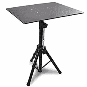 "Pyle Pro PLPTS3 Adjustable Tripod Laptop Projector Stand, 28"" To 41"""
