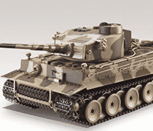 German Tiger I Battle Tank R/C 1:24 Airsoft Metal Cannon Model Heavy Panzer with Sound - Best RC Tanks