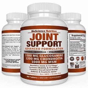 Glucosamine Chondroitin Turmeric MSM Boswellia