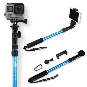 Selfie Stick | Use as GoPro Pole and Monopod