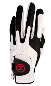 Zero Friction Men's Compression-Fit Synthetic Golf Glove
