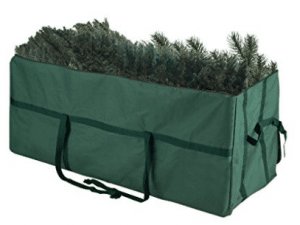 Christmas Tree Storage Bags, Elf Stor Heavy Duty Canvas Christmas Tree Storage Bag Large For 9 Foot Tree