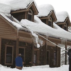 MinnSnowta Dynamo Roof Razor Roof Rake Snow Rake