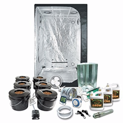 "Complete 4 x 4 (47""x47""x79"") Grow Tent Package With 600"