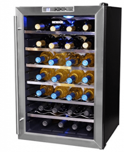 NewAir AW-281E 28 Bottle Thermoelectric Wine Cooler