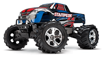Traxxas Stampede 4X4: 1/10 Scale 4wd Monster Truck with TQ 2.4GHz Radio