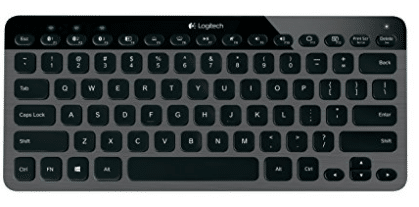 Logitech K810 Wireless Bluetooth Illuminated Multi-Device Keyboard for PC