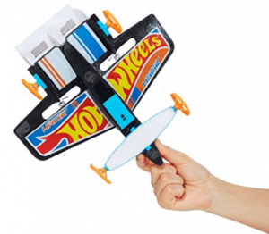 Hot Wheels Street Hawk Remote Control Flying Car, Christmas Gift for 8-Year-Old Boy