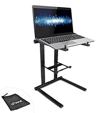 PYLE-PRO PLPTS25 Laptop Computer Stand for DJ Lot of 2