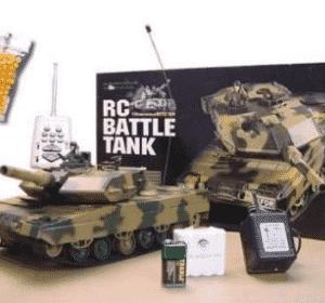 German Leopard II A5 Main Battle Tank RC Airsoft Radio Control 1/24 MBT - BestRC Tanks