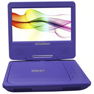Sylvania SDVD7027 7-Inch Portable DVD Player with Car Bag/Kit