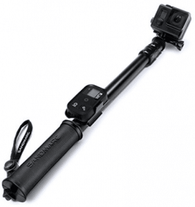 "SANDMARC Pole - Black Edition: 17-40"" Waterproof Extension Pole"