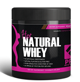 Protein Powder For Women - Her Natural Whey Proteins For Women