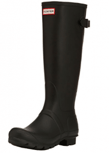 Hunter Womens Original Back Adjustable Rain Boot - Women's Rain Boots
