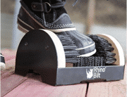 Boot Scraper, THE Original Rhino Bilt All-in-One Scrubber