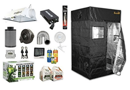 Gorilla Grow Tent 4 x 4 Complete Grow Room Bundle Package