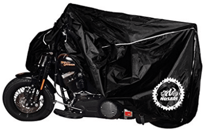 Motorcycle Covers, Premium Weather Resistant Motorbike Cover. Waterproof High Grade Polyester w/Soft Screen