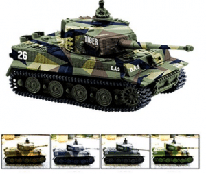 Cheerwing 1:72 German Tiger I Panzer Tank Remote Control Mini RC tank with Sound - Best RC Tanks