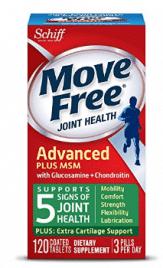 Move Free Advanced Plus MSM, 120 tablets