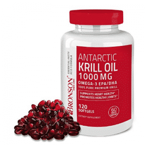 Bronson Antarctic Krill Oil 1000 mg with Astaxanthin