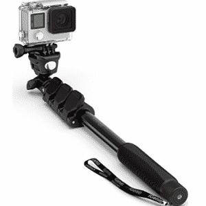"""Professional 10-In-1 GoPro Monopod, 15""""- 47"""" Waterproof Selfie Stick For Go Pro Hero"""