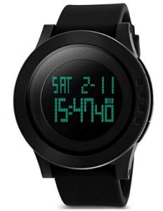 Aposon Men's Digital Sports Wrist Watch LED Screen Large Face Electronics