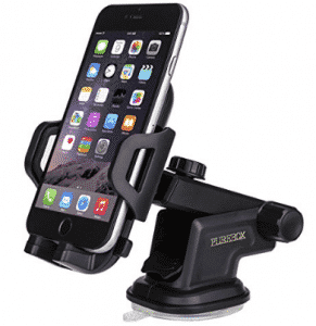 Purebox Car Phone Holder Universal Windshield Dashboard Truck Phone Mount Holder, Cell Phone Holders for Car