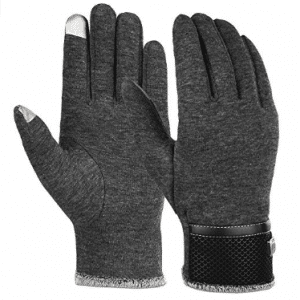 Vbiger Winter Gloves Touch Screen Texting Mittens Warm Cold Weather Gloves For Men