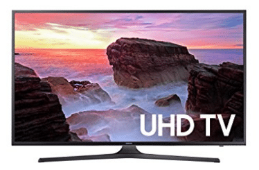 Samsung Electronics UN40MU6300 40-Inch 4K Ultra HD Smart LED TV - Outdoor LED TVs