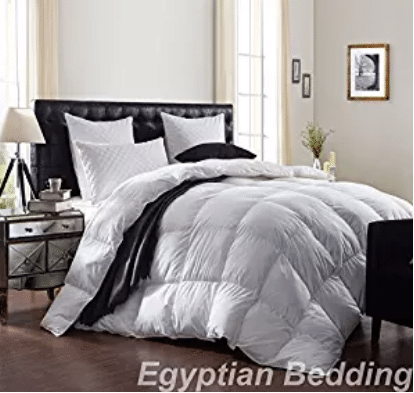 LUXURIOUS 1200 Thread Count GOOSE DOWN Comforter , Goose Down Comforters Queen Size