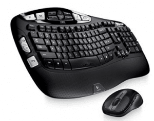 Logitech Wireless Wave Combo MK550 - Curved Comfort