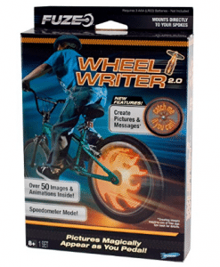 uze Bike FX Wheel Writer 2.0, Birthday and Christmas Gifts for 8-Year-Old Boys