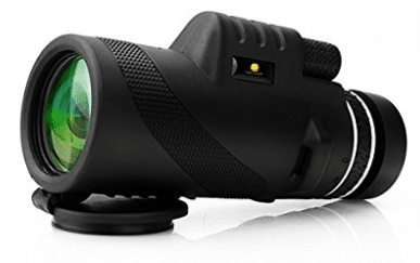 10X42 HD Clear Dual Focus Monocular Telescope - Waterproof Monoculars