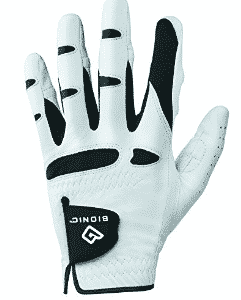 Bionic Gloves –Men's StableGrip Golf Glove W/ Patented Natural Fit Technology Made from Long Lasting