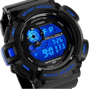 Fanmis Mens Military Multifunction Digital LED