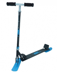 RAILZ Full Size Recreational Snow Kick Scooter, Snow Scooters