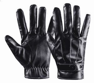 Winter Warm Gloves Men's Touch Screen Texting Leather