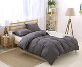 Colourful Snail 100-Percent Natural Washed Cotton Duvet Cover Set - Cotton Comforters