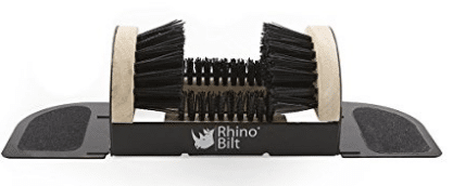 Rhino Bilt Folding Boot Scraper, the all-in-one scrubber