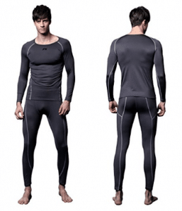 FX Mens MAXHEAT Fleece Compression Performance Long Johns Thermal Underwear - Men's Long Underwear