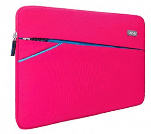 Lacdo 13-13.3 Inch Waterproof Fabric Laptop Sleeve Case Bag Notebook Carrying Case for Apple MacBook Pro