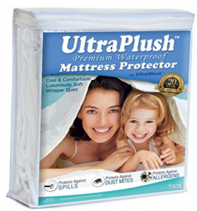 UltraPlush Premium Waterproof Twin Mattress Protector