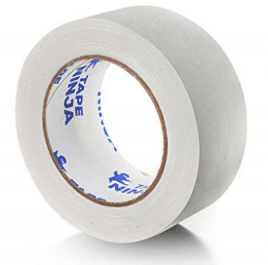 Tape Ninja Waterproof Gaffer Tape, White