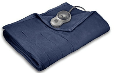Sunbeam Quilted Fleece Heated Blanket with EasySet Pro Controller
